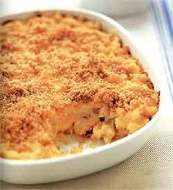 Delicious Baked Macaroni